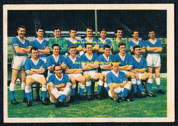 1964 Bergmann  LEICESTER CITY Banks